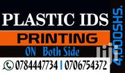 PLASTIC ID PRINTING | Automotive Services for sale in Western Region, Kisoro