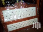 Leather Bed in White Colour for Sale   Furniture for sale in Central Region, Kampala