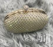 Oval Shapped Gold Clutch | Bags for sale in Central Region, Kampala