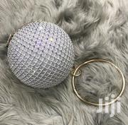 Circle Shapped Glittering Clutch | Bags for sale in Central Region, Kampala