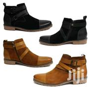 Timberland Shoes Leather And Rubber Sole | Clothing for sale in Central Region, Kampala