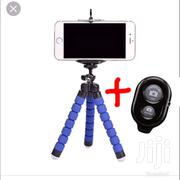 Mini Mobile Phone Tripod Stand Plus Bluetooth Remote Shutter | Clothing Accessories for sale in Central Region, Kampala