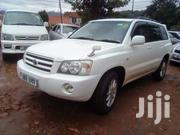 Toyota Kluger 2004 White   Cars for sale in Central Region, Kampala
