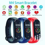 M4 Fitness And Healthy Tracker Smart Watch Bracelet Stainless Display | Smart Watches & Trackers for sale in Central Region, Kampala