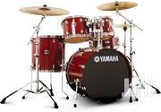 Yamaha Drum Set in Red and Blue | Musical Instruments & Gear for sale in Western Region, Kibaale