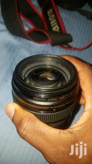 Canon 85mm 1.8 Original Metalic Canon Lens 1month Used | Photo & Video Cameras for sale in Central Region, Kampala