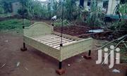 Woven Bed Done on Metallic Welded Frame | Furniture for sale in Eastern Region, Mbale