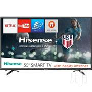 Hisense 55'' Inch 4K Ultra HD Smart TV With Built-In WIFI | TV & DVD Equipment for sale in Central Region, Kampala