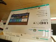 Hisense 55inches Smart Uhd 4k Tv | TV & DVD Equipment for sale in Central Region, Kampala