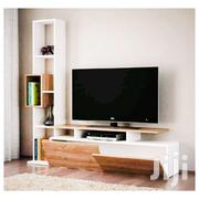 Modern TV Stand - White,Brown | Furniture for sale in Central Region, Kampala
