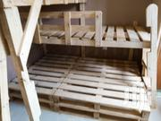 Pallet Desing Decker Kids Bed And Adults ,Kids Table And More | Children's Furniture for sale in Central Region, Kampala