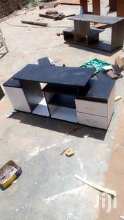 Tv Stand White And Black   Furniture for sale in Central Region, Kampala