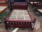 Germany Bed 4*6 Size Mahogany in Colour | Furniture for sale in Central Region, Kampala