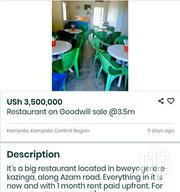 Restaurant | Commercial Property For Sale for sale in Central Region, Kampala