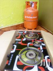 I'm Selling A Empty Total Cylinder Gas And Gas Stove Two Burner | Kitchen Appliances for sale in Central Region, Wakiso