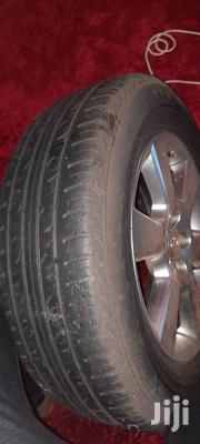 Harrier Rims With Japan Tyres | Vehicle Parts & Accessories for sale in Central Region, Mukono