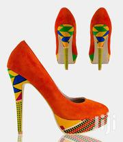 High Heels and Slippers Designed With Ankara | Shoes for sale in Central Region, Kampala