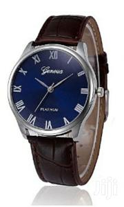 Leather Analog Wrist Watch | Watches for sale in Central Region, Kampala