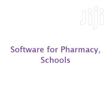Software For Pharmacy, Schools