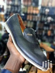 Black & Blue Clarks Leather Lofers | Shoes for sale in Central Region, Kampala