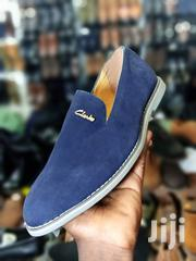Clarks Blue Sued | Shoes for sale in Central Region, Kampala