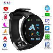 D18 Health And Fitness Tracker Smartwactch Bracelet | Smart Watches & Trackers for sale in Central Region, Kampala