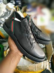 Gucci Black And White Shoes | Shoes for sale in Central Region, Kampala