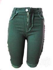 Jean Shorts for Women Green | Clothing for sale in Central Region, Mukono