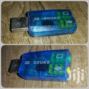 Audio External USB Sound Card Adapter For Computer Laptop | TV & DVD Equipment for sale in Central Region, Kampala