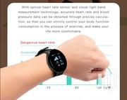 Waterproof Heart Rate Tracker Pressure Measurement Step Smart Watch | Smart Watches & Trackers for sale in Central Region, Kampala