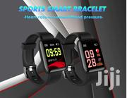 Smart Watch Blood Pressure Heart Rate Call Message Reminder | Smart Watches & Trackers for sale in Central Region, Kampala