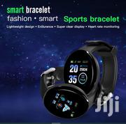 Smartwatch Blood Pressure Heart Rate Call Twitter SMS Message Reminder | Smart Watches & Trackers for sale in Central Region, Kampala