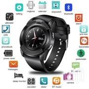 V8 Round Screen Bluetooth Smart Watch | Smart Watches & Trackers for sale in Central Region, Kampala