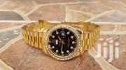 Rolex With Stones And Golden Bezel | Watches for sale in Central Region, Kampala