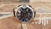 Cartier Chronograph Black Strap | Watches for sale in Central Region, Kampala