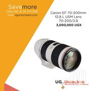 Canon EF 70-200mm F2.8 L USM Lens 70-200/2.8 | Cameras, Video Cameras & Accessories for sale in Central Region, Kampala