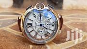Cartier Chronograph With Brown Straps   Watches for sale in Central Region, Kampala
