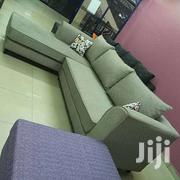 Brand New L Sectional Sofa Set . 5 Sitter Large Chaise | Commercial Property For Sale for sale in Central Region, Kampala