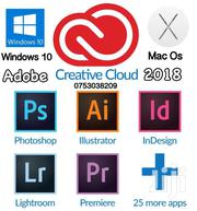 Adobe Creative Cloud Suit  CC 2018 Both For Windows & Mac Os Systems | Laptops & Computers for sale in Central Region, Kampala