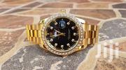 Rolex With Stones Golden Color | Watches for sale in Central Region, Kampala