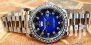 Rolex With Stones Silver | Watches for sale in Central Region, Kampala