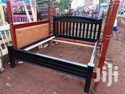 Black 5by6 Bed | Furniture for sale in Central Region, Kampala