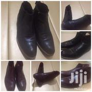 Original Leather Black N Brown Men Boot Shoes | Clothing for sale in Central Region, Kampala