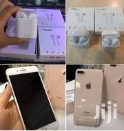 iPhone 8+ Rose Gold Copy With BT Wireless Earbuz | Mobile Phones for sale in Central Region, Kampala