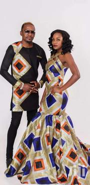 Kitenge Couple Wear | Clothing for sale in Central Region, Kampala