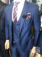 Men's Dotted Navy Blue 3 Piece Suits | Clothing for sale in Central Region, Kampala
