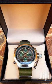 Ohsen Military Watch With Chronograph | Watches for sale in Central Region, Kampala