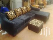Black L Sofa Available Now | Furniture for sale in Central Region, Kampala
