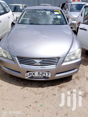 New Toyota Mark X 2005 Silver