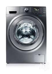 Samsung WF906U4SAGD 9kg Eco Bubble Front Load Washing Machine - Grey | Home Appliances for sale in Central Region, Kampala
